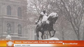 Record-breaking cold keeps Northeast in deep freeze