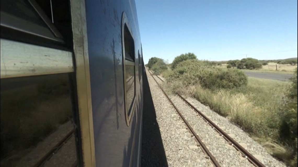 Escaping COVID: Riding South Africa's luxury Blue Train