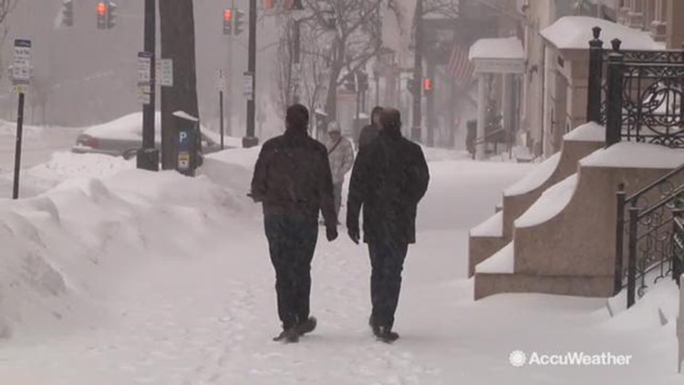 Black ice a concern as frigid cold temperatures continue in Northeast