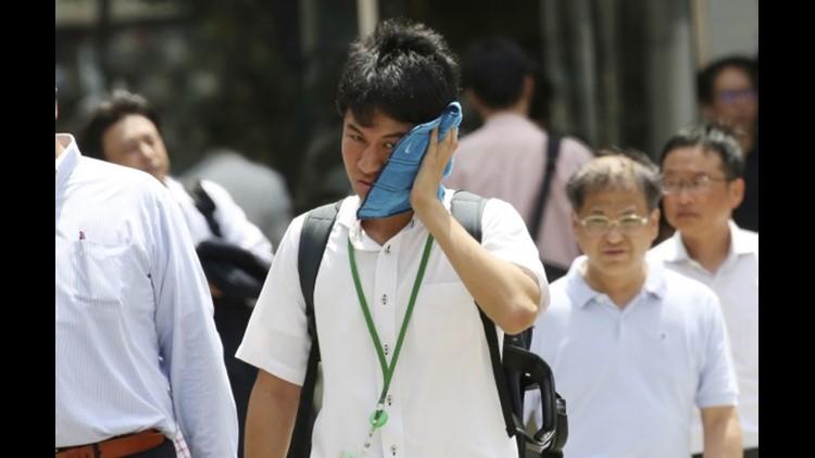 Tokyo heat wave olympics