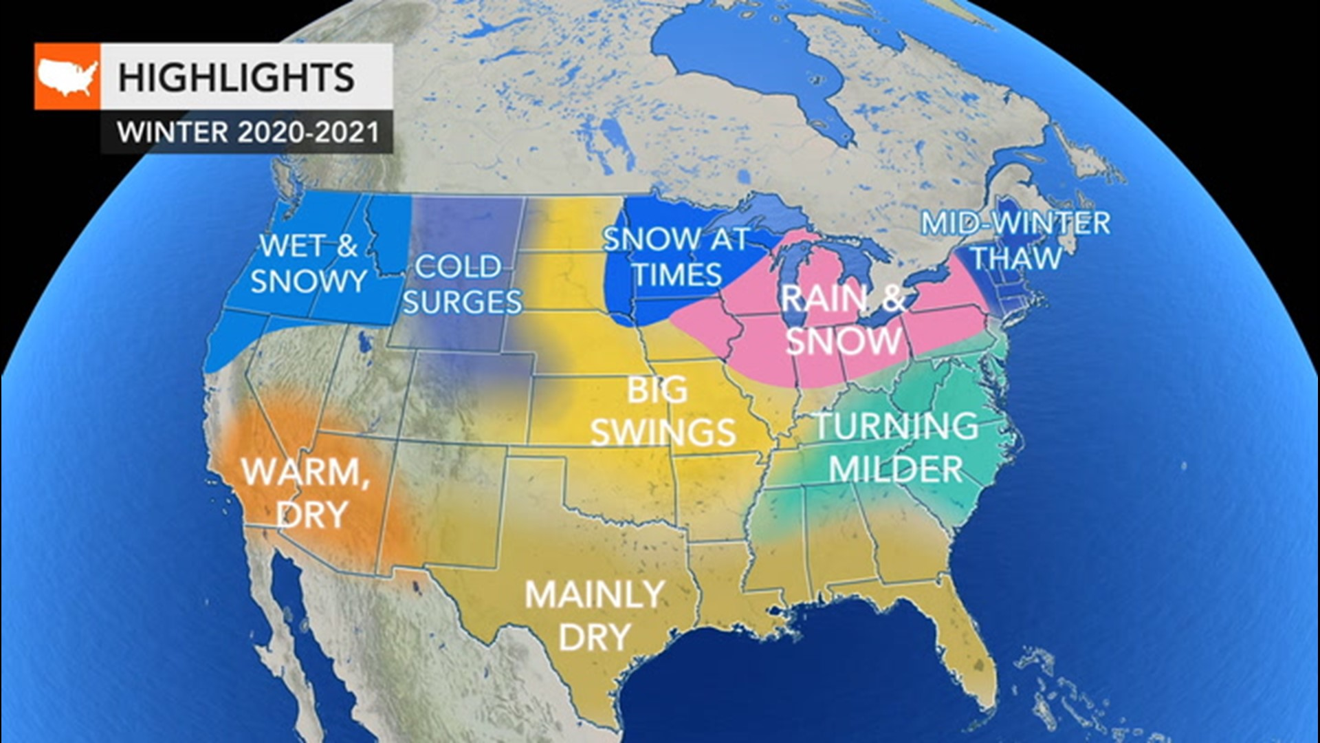 Winter is coming; here's the winter weather forecast for around