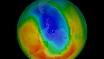 Good News! Earth's Ozone Hole is the Smallest it's Been in Decades