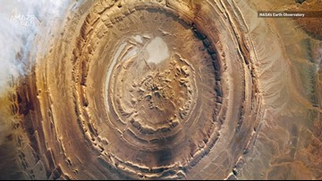 'Earth's Bullseye' is a Giant, Geological Wonder That Stuns From Space