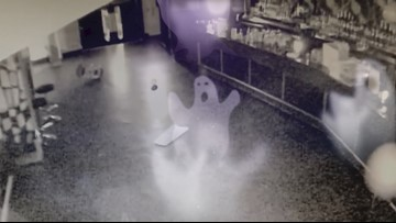 Did This Security Camera Just Capture a Poltergeist On Film?