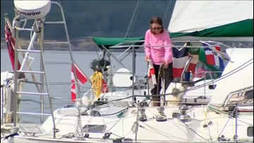 Smooth Sailing! 77-Year-Old British Woman Sets The Record As the Oldest Person to Sail Around The World!