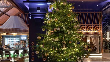 O Christmas Tree! This one is worth $15.5 million