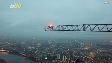 Vertigo-Inducing Video Shows Two Daredevils Climbing One of London's Tallest Buildings... in the Rain