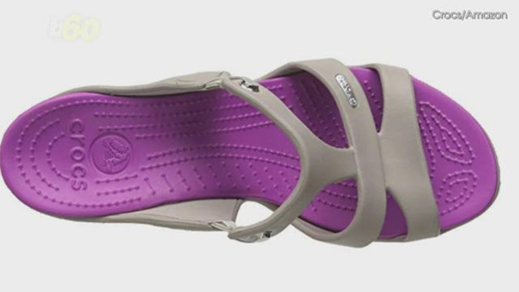 d4fc834c2fc3 Are new high heeled crocs a fashion no well they re selling out anyway jpg  750x422