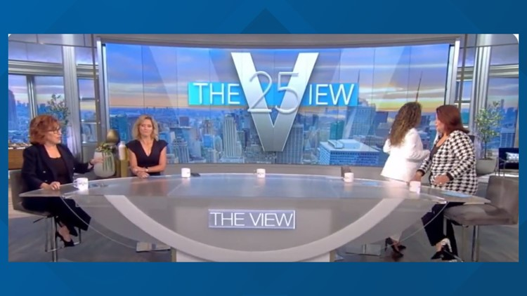 'The View' co-hosts rushed off set after positive COVID-19 test before VP Harris interview