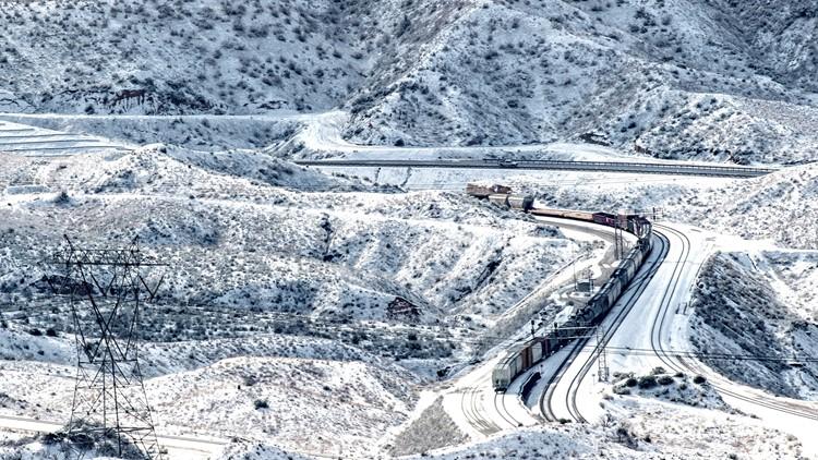 Winter Weather California Phelan