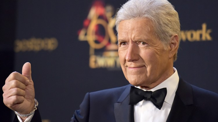 Alex Trebek 46th Annual Daytime Emmy Awards AP