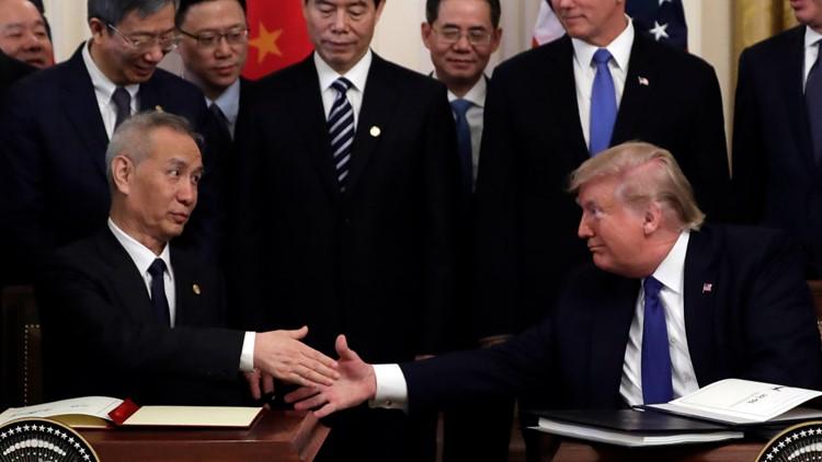 APTOPIX Trump US China Trade