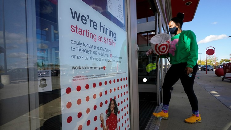 US adds a strong 379,000 jobs in hopeful sign for economy