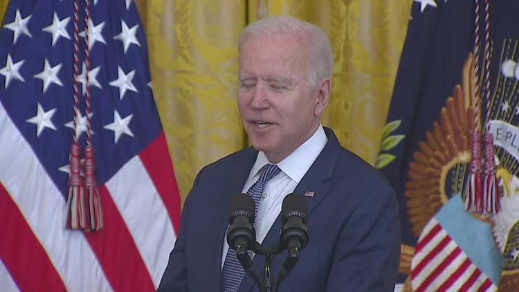 Biden talks importance of
