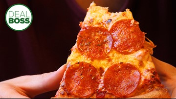 How to get 50 percent off pizza right now
