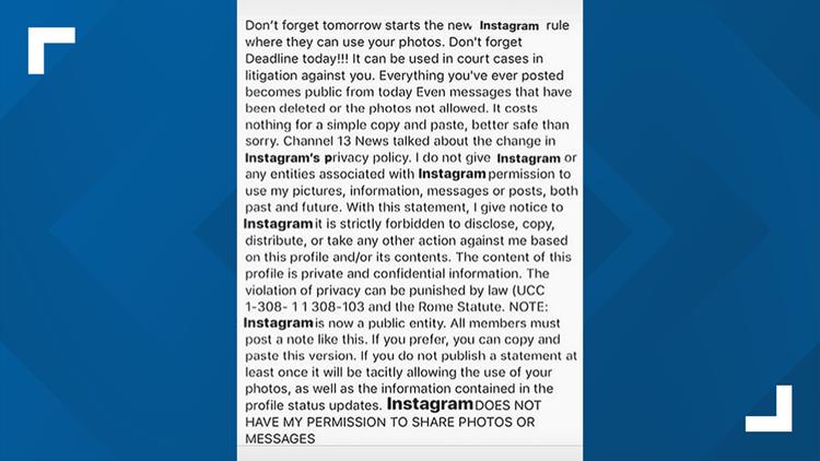 Latest Instagram photo hoax