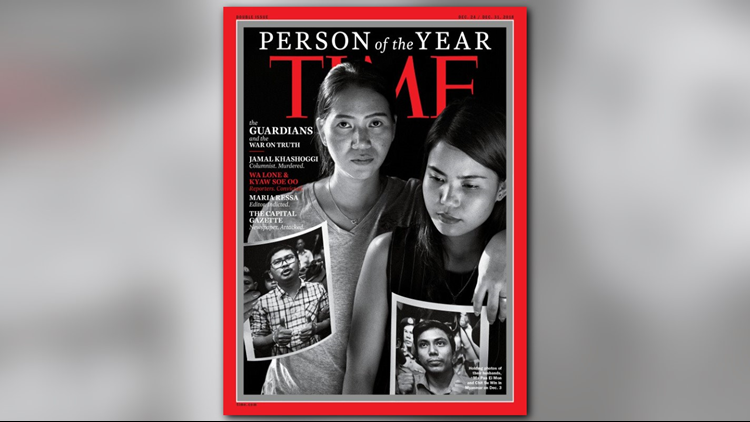 Wa Lone and Kyaw Soe Oo TIME Magazine