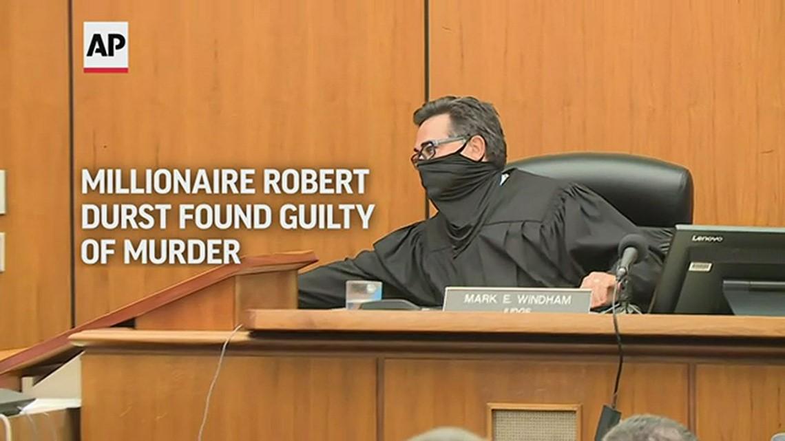 Robert Durst convicted of murdering best friend