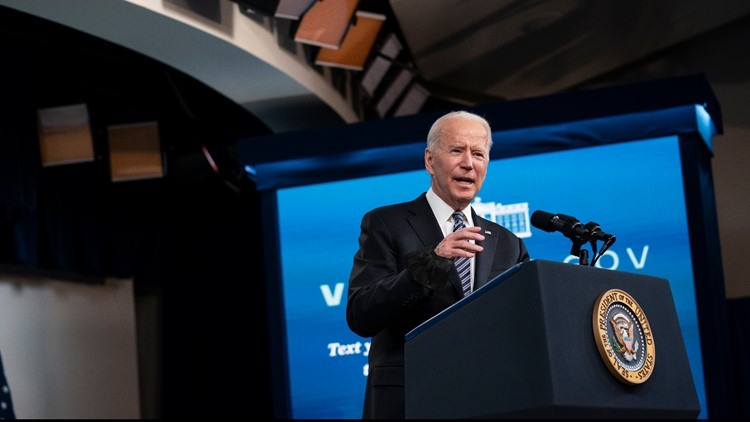 President Biden addresses Colonial Pipeline cyberattack, gas shortages