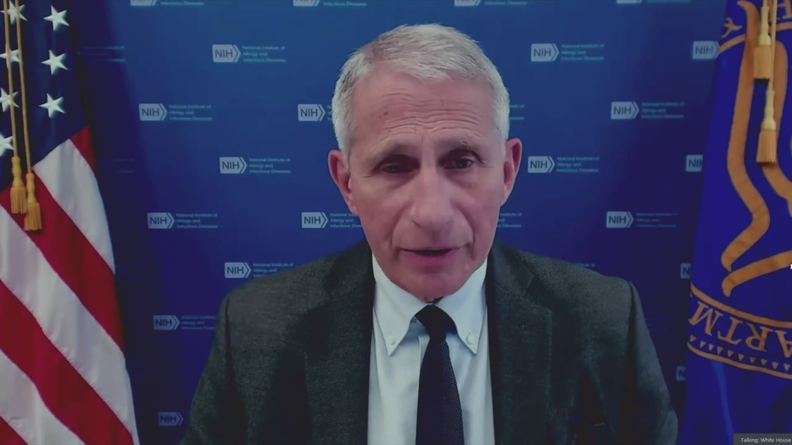 Dr. Fauci addresses COVID vaccines effectiveness against delta variant
