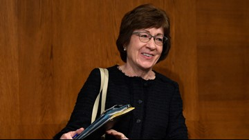 Trump, impeachment could loom large in Sen. Collins' race