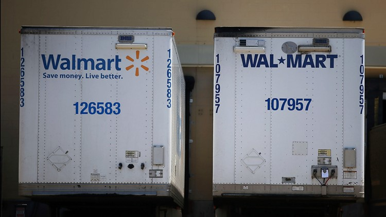 Walmart to increase truck drivers' pay to nearly $90K, hire