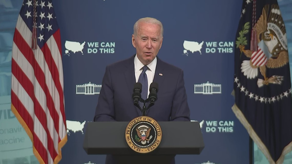 Biden details 5 focus areas to get more Americans vaccinated