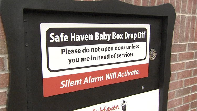 Mom leaves baby in Indiana Safe Haven box 30 days after it opened