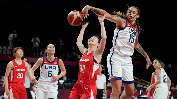 US uses dominant inside presence to beat Japan 86-69 in women's basketball