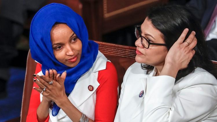 Rep. Ilhan Omar and Rep. Rashida Tlaib