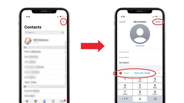 ZIPWHIP iPhone Add Contact 1