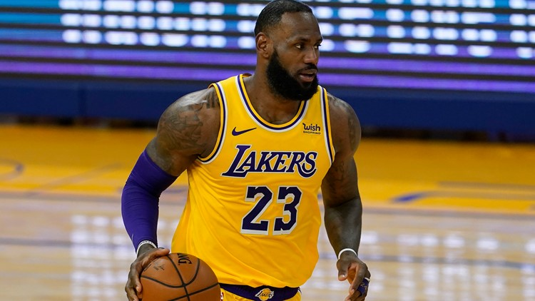 LAPD union calls for NBA to investigate LeBron James  over tweet