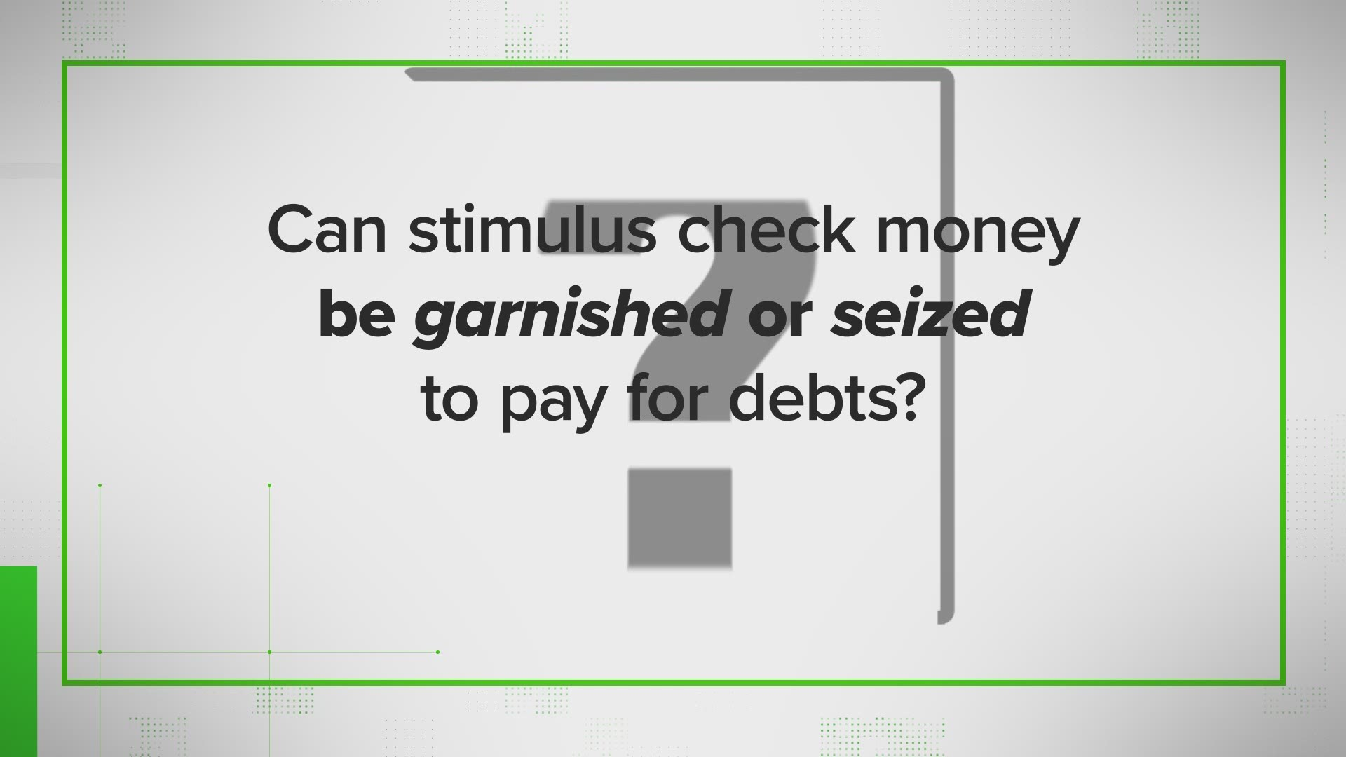 Verify Will I Have To Pay To Get The Money Answering More Of The Top Stimulus Check Questions Wfaa Com ( please select at least 2 keywords ). wfaa com