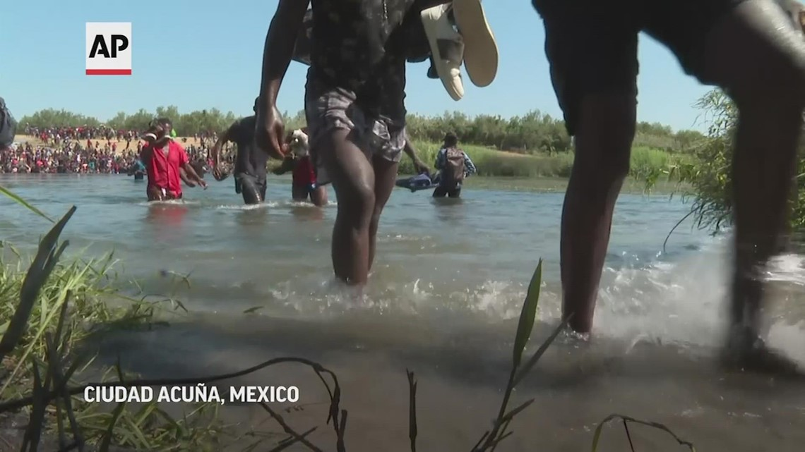 Mexico buses, flies Haitians from remote area on US border