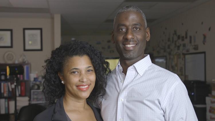 Camille and Jason Hammond