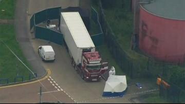 Murder probe in Britain after 39 dead found in back of truck