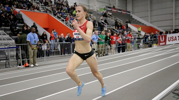 Runner Shelby Houlihan allowed to race in US trials pending ban appeals