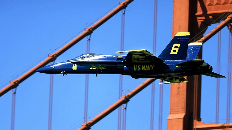 BLUE ANGELS FLEET WEEK