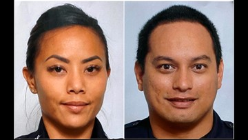 Shooting kills 2 Hawaii officers before homes catch fire