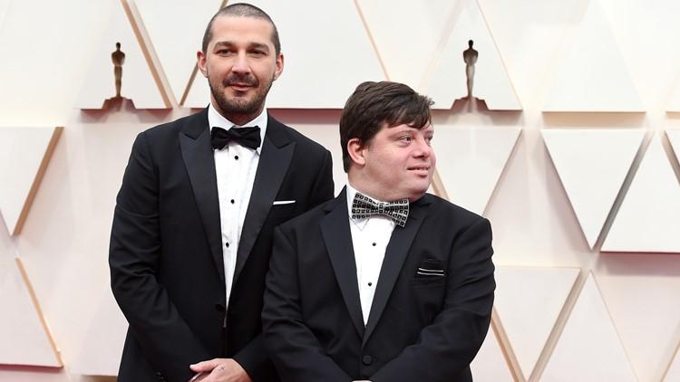 Shia LaBeouf Zack Gottsagen  92nd Academy Awards - Arrivals