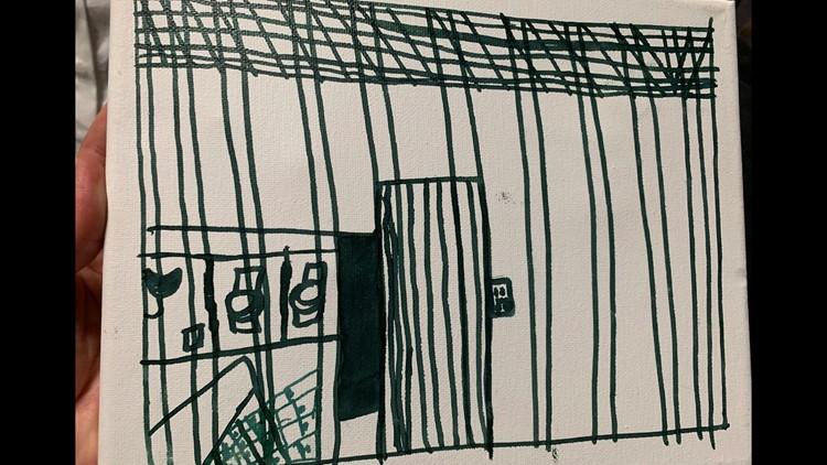 Migrant Children Drawings