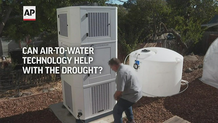 Taking water from air may help ease California drought
