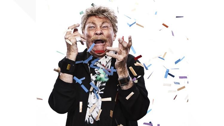 The 'King of Confetti,' comic ...