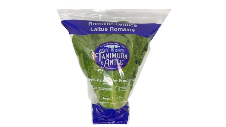 Packaged romaine lettuce recalled over E.coli concerns