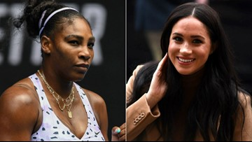 Serena Williams Shuts Down Meghan Markle Question: 'But Good Try'