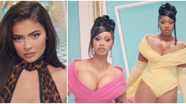 Kylie Jenner Cameos In Cardi B And Megan Thee Stallion S Wap