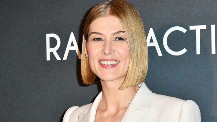 Rosamund Pike Speaks Out Against Her Body Being Altered on Movie Posters