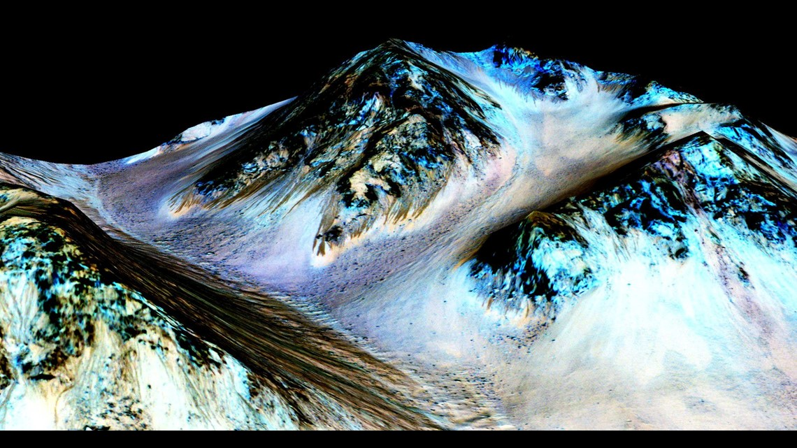 Italian Space Agency says it's found evidence of water on Mars