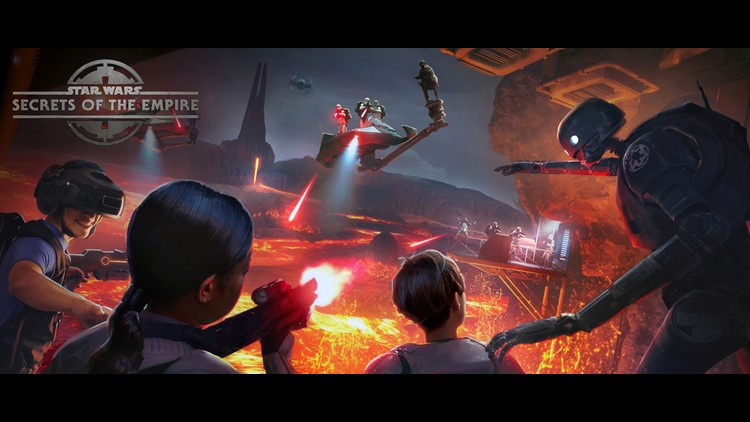 Secrets of the Empire lets you join the rebellion, invade a garrison of stormtroopers, and maybe even face down one of the series' big villains.