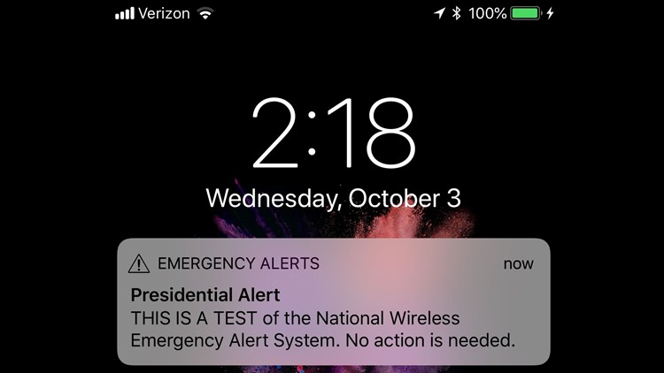 What just happened with my phone? FEMA tests 'presidential